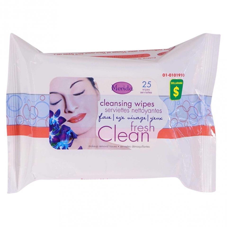 25PK Cleansing Wipes
