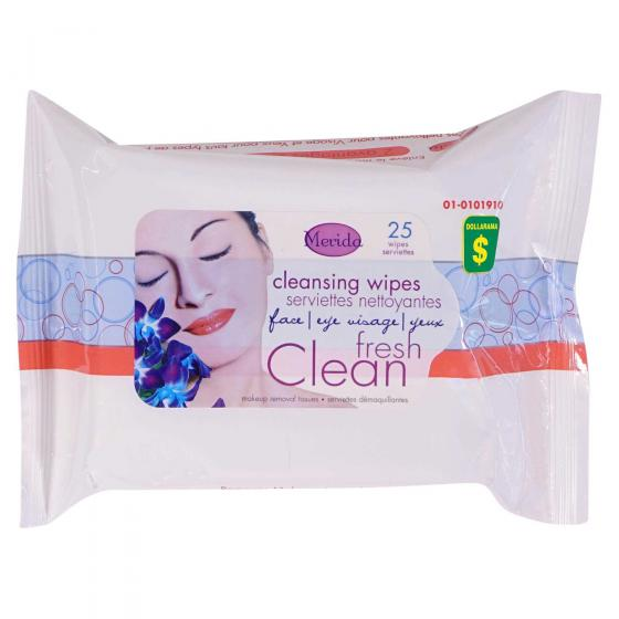 Cleansing Wipes 25PK