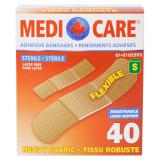 Heavy Fabric Adhesive Bandages 40PK - 0