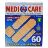 Water Resistant Adhesive Bandages 60PK - 0