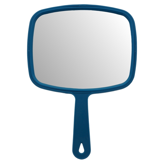 Large Rectangular Hand Mirror (Assorted Colours)