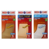 Soft Fabric Adhesive Bandages 5PK (Assorted Fabric) - 0
