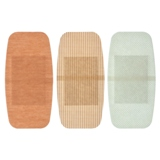 5PK Soft Fabric Adhesive Bandages - 2