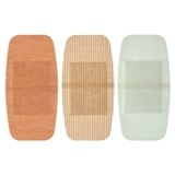 Soft Fabric Adhesive Bandages 5PK (Assorted Fabric) - 2