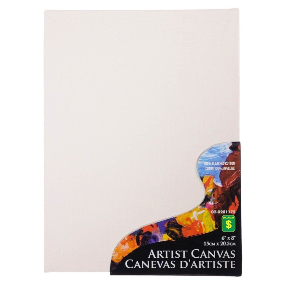 Flat Artist Canvas (Assorted Sizes and Quantities)