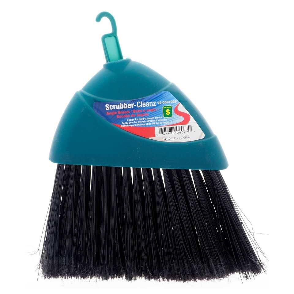Angled Broom Head (Assorted Colours)