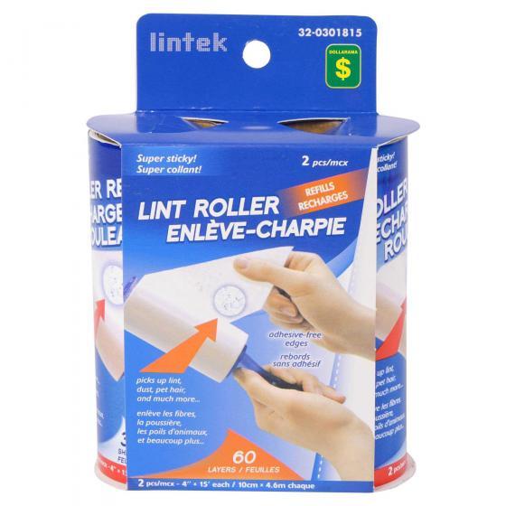 2PK Lint Roller Refills