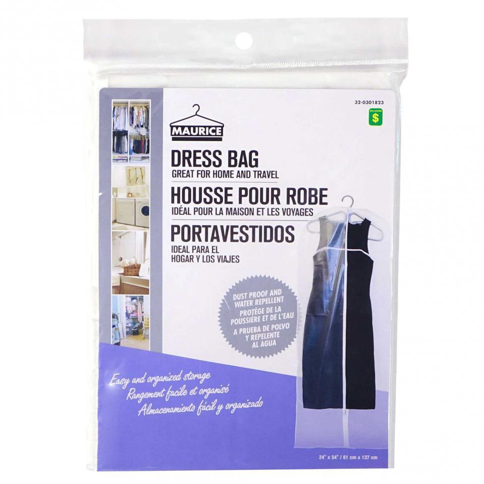 Housse pour robe en PEVA