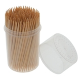 Bamboo Toothpicks with Dispensers 600PK - 2