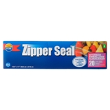 Zipper Seal Large Bags 20PK - 0