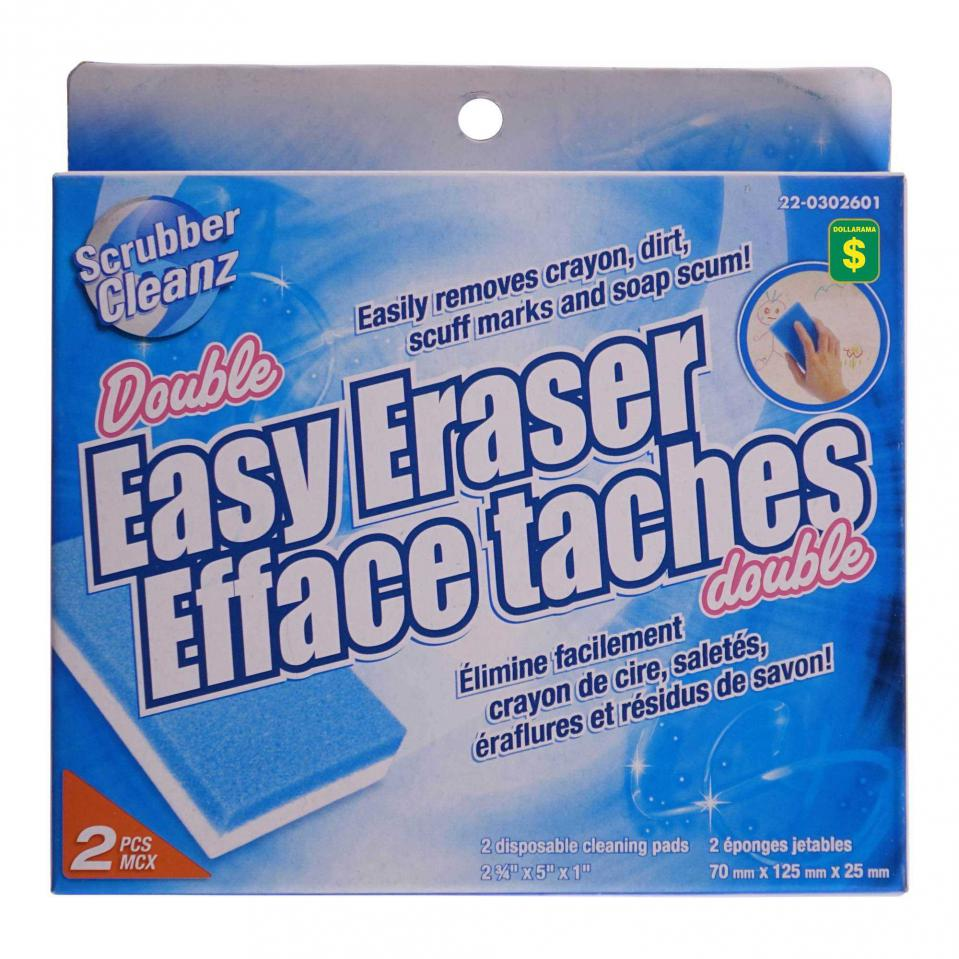 2PK Double Easy Erasers