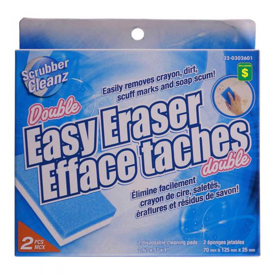 Double Easy Erasers 2PK