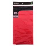 Nappe rectangulaire rouge en plastique - 0