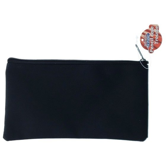 Pencil Case with Zipper (Assorted Colours)