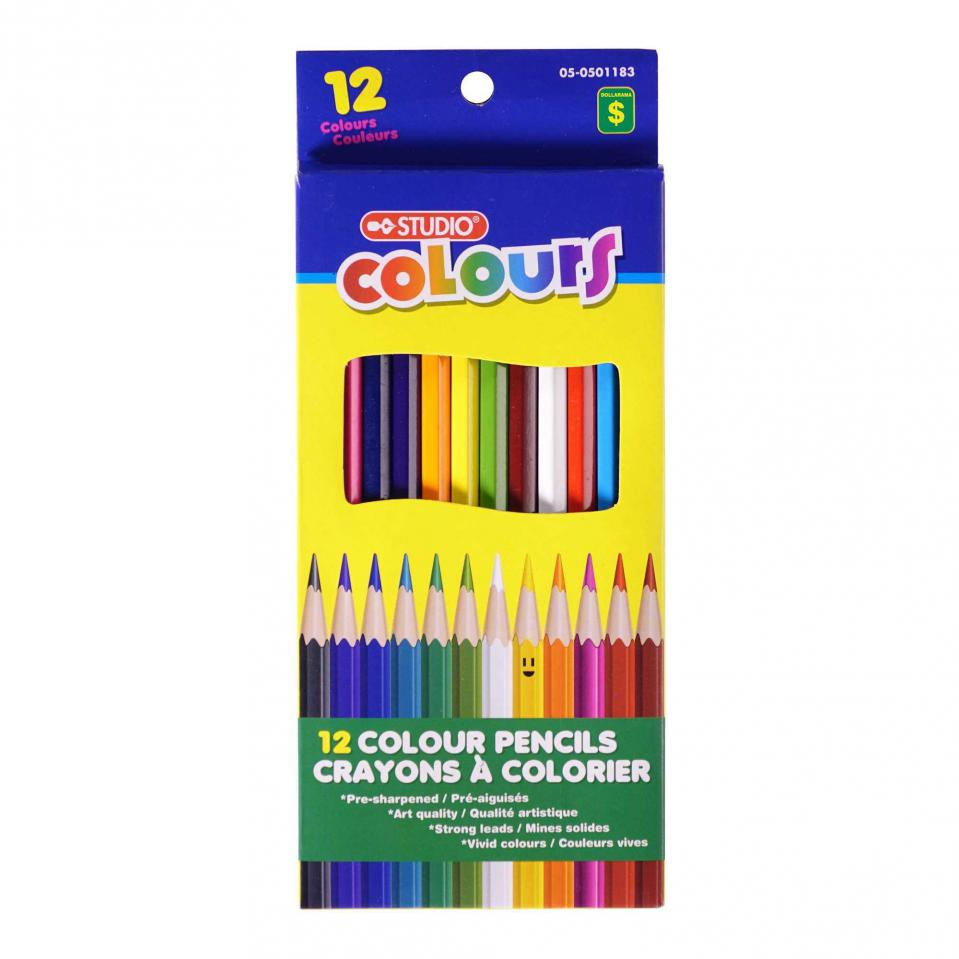 Colour Pencil Set 12PK
