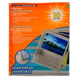 3-Ring Binder Sheet Protectors 10PK - 0