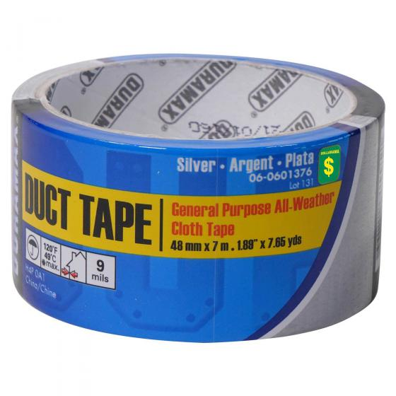 Duct Tape - Grey General Purpose Cloth Tape