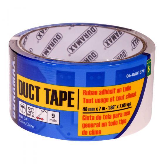 Duct Tape - Ruban adhésif en toile blanc