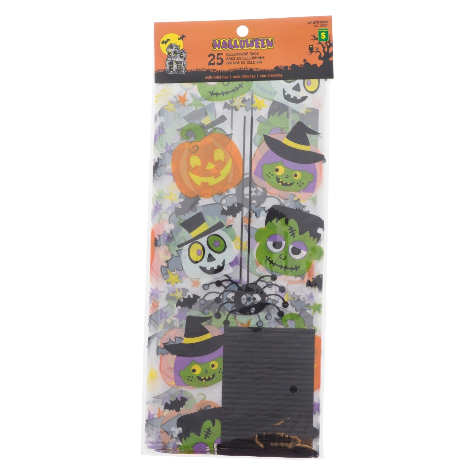 25PK Printed Candy Bags