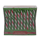 10Pk Christmas Mint Candy Cane - 0