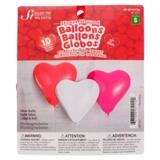 10 Ballon gonflables en forme de coeur - 0