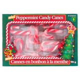 18Pk Mini Xmas Mint Candy Cane - 0