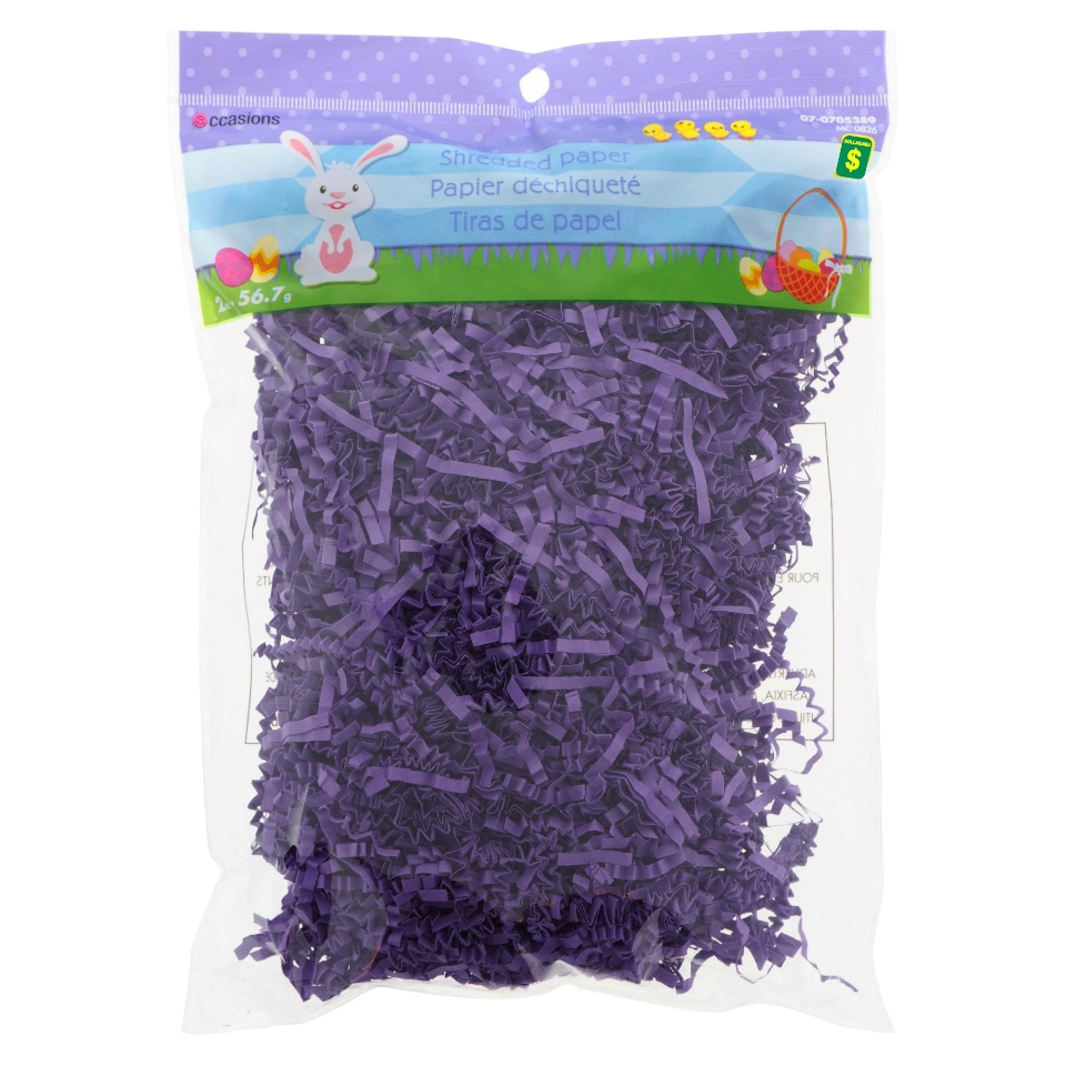 Shredded Paper (Assorted Colours)