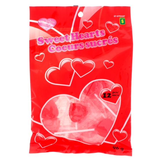 Heart Shaped Candy Pop