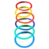 6PK Glow Bracelets (Assorted Colours) - 1