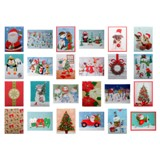 Gift Box Small Foldable 3PK (Assorted Colours and Patterns) - 2