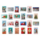 2Pc Large Xmas Foldable Box - 2