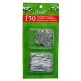 150 Christmas Wire Ornamen Hooks - 0