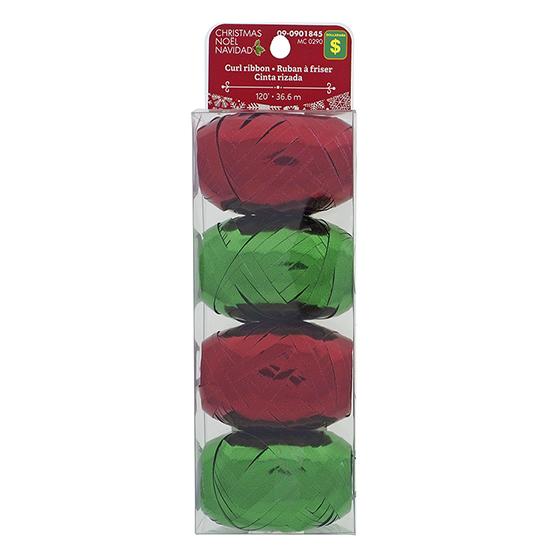 4Pk Rolls of Curling Ribbon