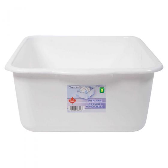 Bassine à vaisselle en plastique