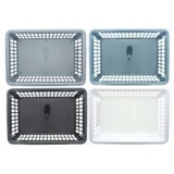 Plastic Storage Basket (Assorted Colours) - 1
