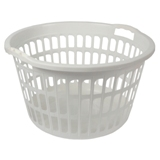 Plastic Laudry Basket (Assorted colours) - 2