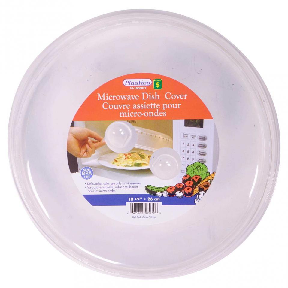 Couvre assiette pour micro-ondes
