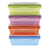 Food Container (Assorted colours) - 3