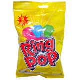 3PK Ring Pop Lollipop (Assorted colours and flavours) - 0