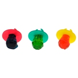Ring Pop Lollipop 3PK (Assorted Colours and Flavours) - 2
