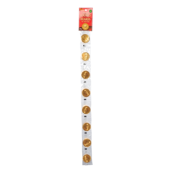 8PK Chocolate Loonies
