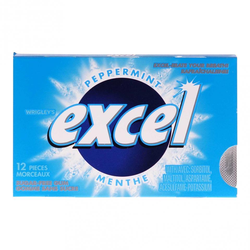 12 Gomme à la menthe Excel