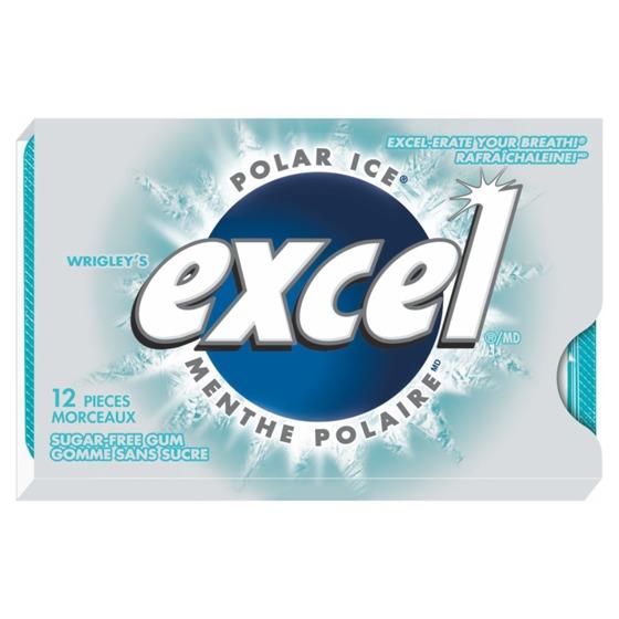 12 Gomme à la menthe polaire Excel