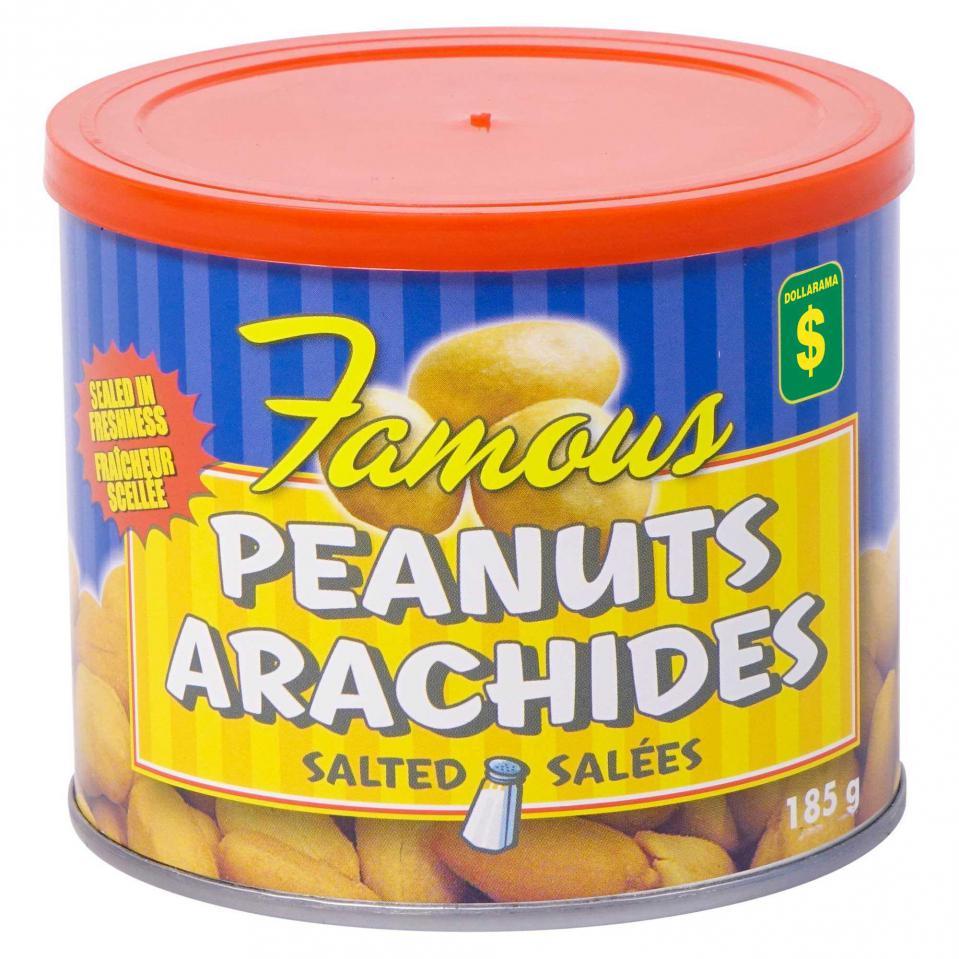 Arachides salées