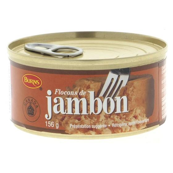 Flocons de jambon
