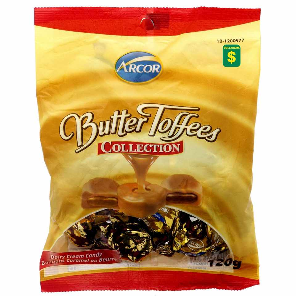 Butter Toffees (Assorted Flavours)