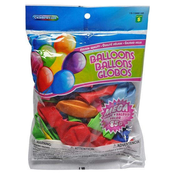 Balloons (Assorted colours)