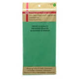 Tissue Wrapping Paper Vibrant Dark Green 20 Sheets - 0