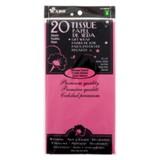 20 Sheets Fabulous Fuchsia Tissue Gift Wrap - 0