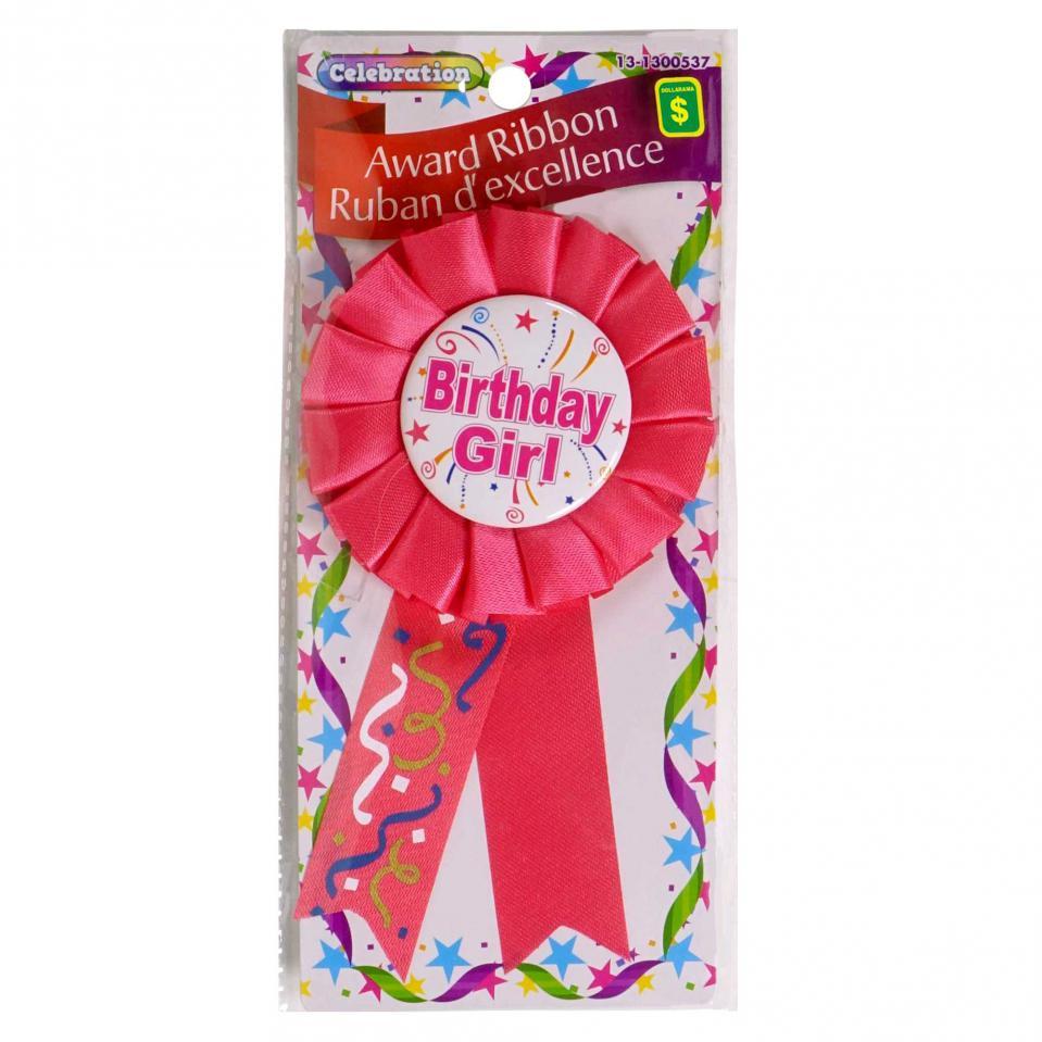 """Ruban d'excellence """"Joyeux anniversaire"""" (Couleurs assorties)"""